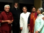 Amitabh Bachchan spends time with old buddies