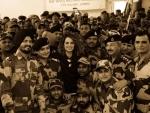 Kangana Ranaut relives Marilyn Monroe moments at BSF camp