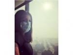 Varun Dhawan, Parineeti Chopra experience Delhi smog