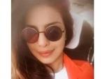 Priyanka Chopra visits London to promote her Baywatch