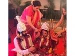 Riya Sen ties knot with Shivam Tiwari