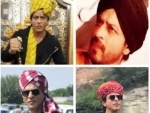 From Punjab to Rajasthan, Shah Rukh Khan seems obsessed with his head gears