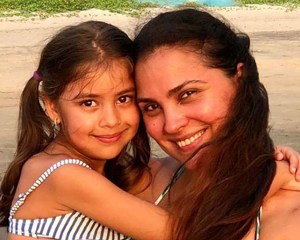 Image result for lara dutta with daughter