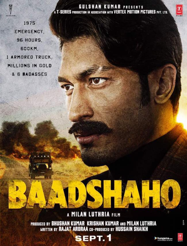 Baadshaho: New poster released, unveils Vidyut Jammwal's look