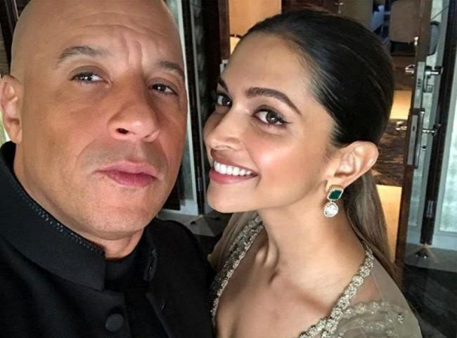 Vin Diesel shares an 'all love' picture with Deepika on Instagram