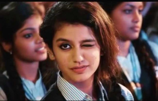 Valentine's Day: Priya Prakash Varrier becomes internet sensation as her 'winking' video goes viral