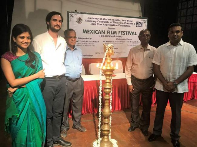 Festival of Contemporary Mexican Films Inaugurated in Chennai