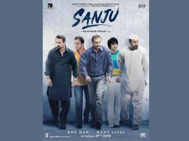 First look poster of Sanju released