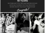 Amitabh Bachchan completes 49 years in Bollywood, remembers signing of first movie Saat Hindustani