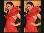 Deepika Padukone scorches Met Gala in red off-shoulder attire