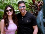 Akshay Kumar visits Kolkata to promote his upcoming film 'Gold' which releases on Independence Day