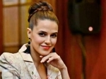 Neha Dhupia, Angad name their daughter Mehr, shares her first image on social media