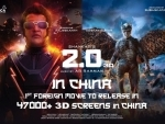 Rajinikanth's 2.0 to release in China