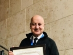 Anupam Kher conferred 'Distinguished Fellow' title at Cambridge MIT Sloan School of Management