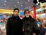 Abhishek Bachchan turns 42, Big B wishes him