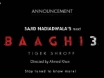 Tiger Shroff will be back again with Baaghi 3, announces makers
