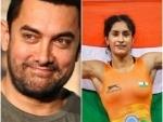 Aamir Khan congratulates Vinesh Phogat on winning Gold at Asian Games