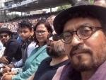 Battling cancer, actor Irrfan Khan sends heartfelt note from London