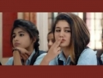 After winking,  Priya Prakash Varrier's flying kiss video is now trending on internet