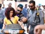Taapsee Pannu shares Manmarziyaan moment on social media