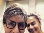Taapsee Pannu reunites with Amitabh Bachchan for Sujoy Ghosh's Badla
