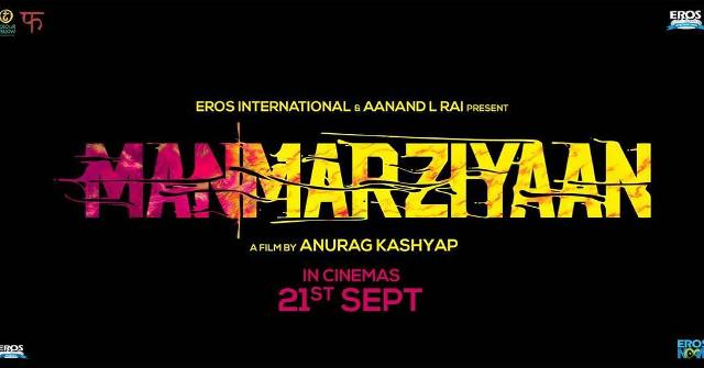 Abhishek Bachchan's Manmarziyaan to release on Sept 21