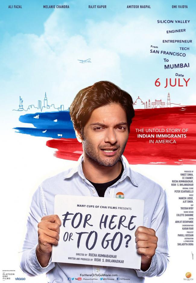 Makers release poster of 'For Here Or To Go'