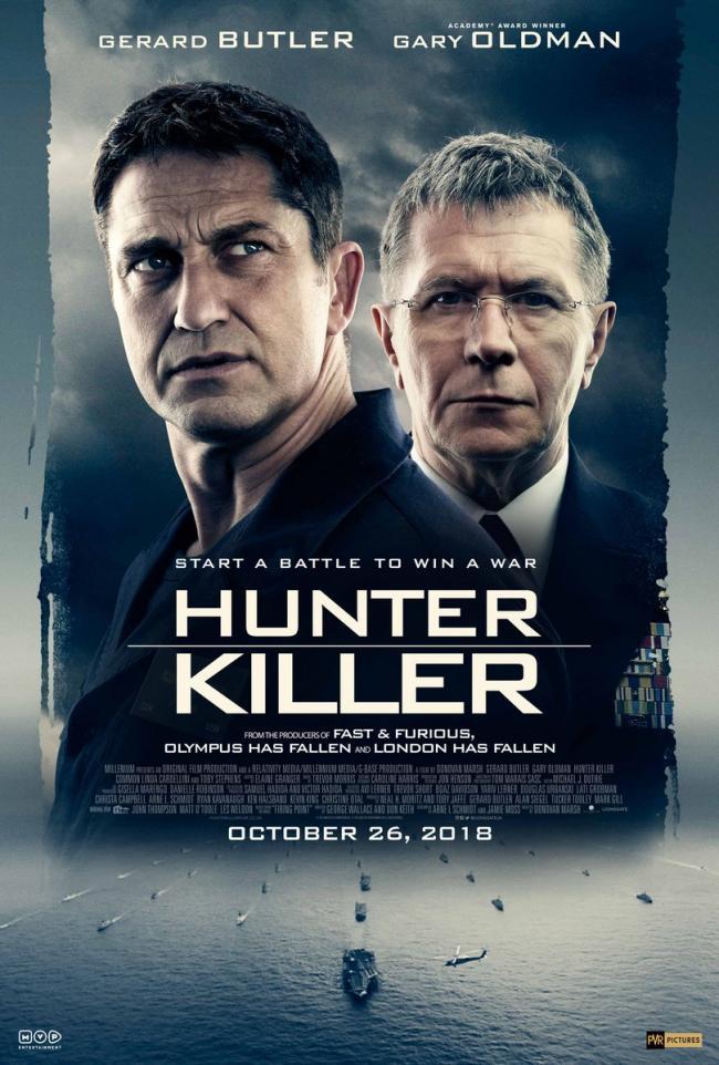 Hunter Killer releases in India on Oct 26