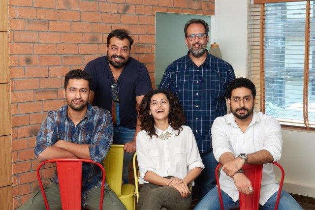 Abhishek Bachchan, Taapsee Pannu join Anurag Kashyap-Aanand L Rai's next collaboration Manmarziyaan