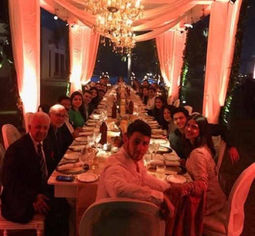 Priyanka Chopra, Nick Jonas join Thanks Giving dinner with family