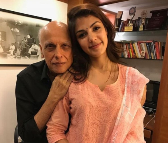 Rhea Chakraborty gives strong reply for trolls, shares another image with Mahesh Bhatt