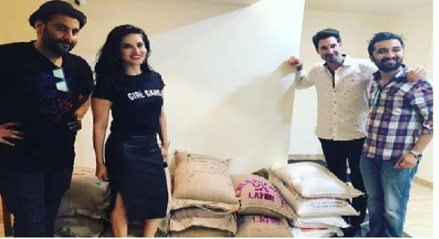 Sunny Leone donates 1200 kilos of food to help Kerala flood victims