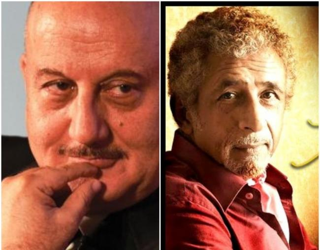 Can't comment on Anupam's work as FTII chairman since he's hardly there: Naseeruddin