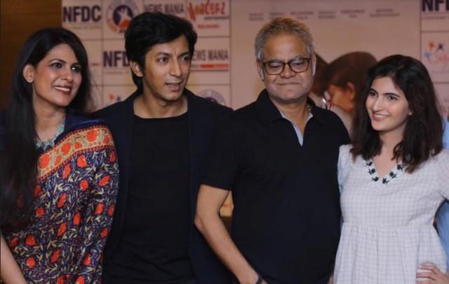 "Star-casts promote Harish Vyas's upcoming ""Angrezi Mein Kehte Hain"" in Kolkata"
