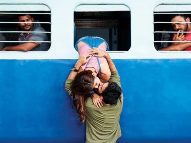 Jalebi first look poster hints sizzling chemistry between Rhea Chakraborty, Varun Mitra
