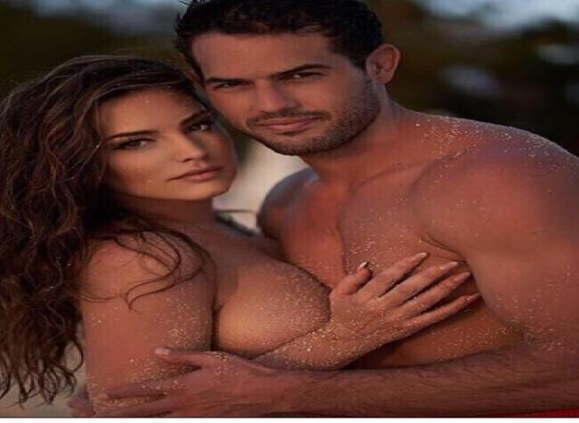 Kelly Brook shares topless image on Instagram