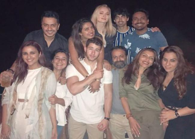 Ahead of wedding, Priyanka Chopra spends time with Nick, family
