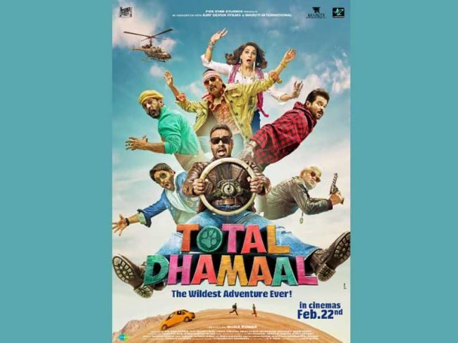 Ajay Devgn's Total Dhamaal hits silverscreen today