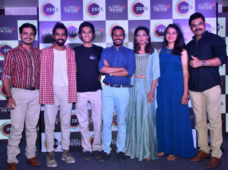 Zee 5 launches 'Sex, Drugs and Theatre'