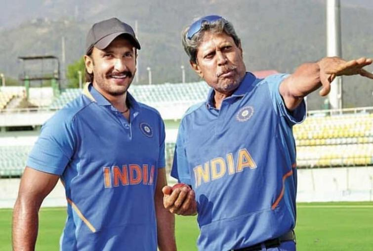 Reel and real Kapil Dev come in one frame
