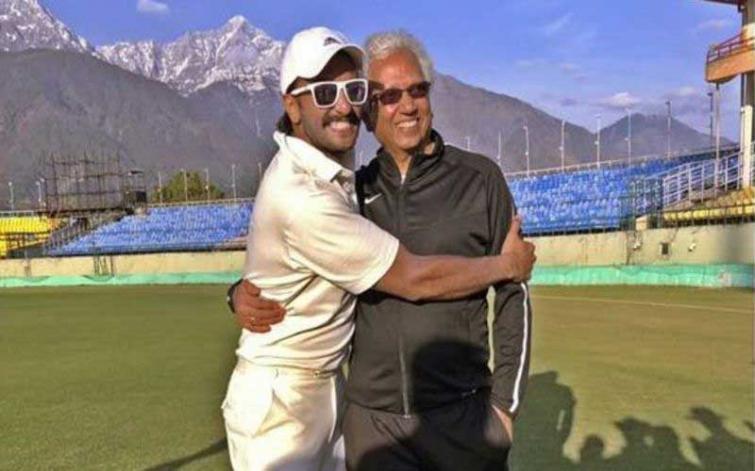 Ranveer Singh meets Mohinder Amarnath for film '83