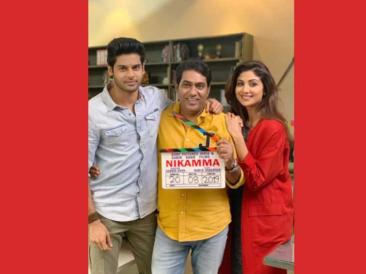 Shilpa returns to Bollywood with Nikamaa, shares image of her first day from shooting floors on Instagram