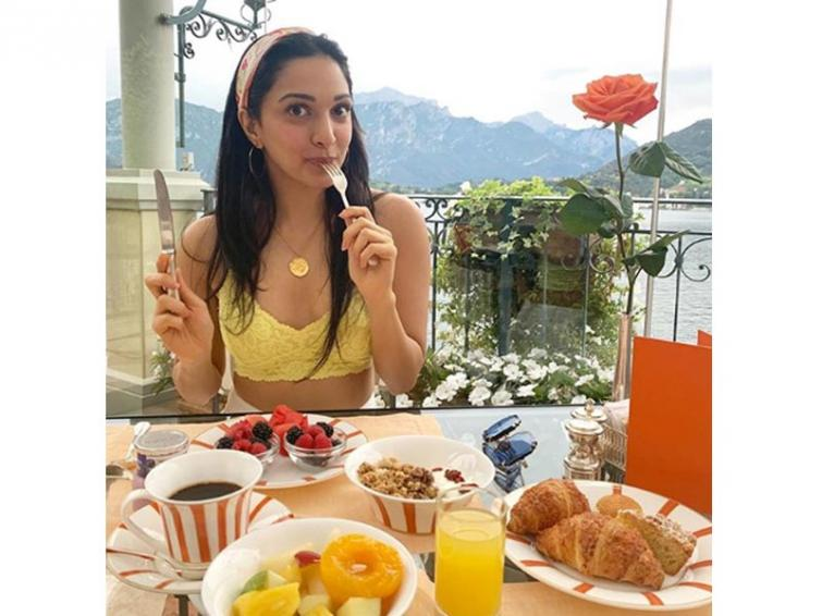Kiara Advani shares her favourite breakfast  with fans