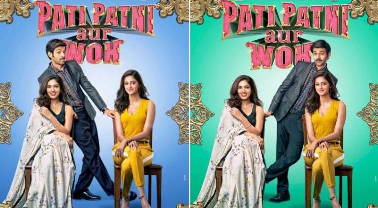 Makers release new posters of Pati Patni aur Woh