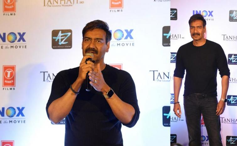 I feel every movie like my career's first work: Ajay Devgn on 100th film Tanhaji: The Unsung Warrior