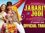 Makers release poster of Jabariya Jodi, promises to be fun-filled entertainment