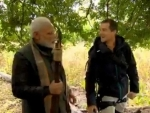 Bear Grylls urges people to watch special 'Man vs Wild' episode tonight, features PM Narendra Modi