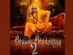 Actor Kartik Aaryan steps into Akshay Kumar's shoes, makers release posters of Bhool Bhulaiyaa 2