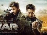 New poster of Hrithik, Tiger Shroff starrer War releases