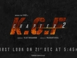 Farhan Akhtar shares first look poster of K.G.F: Chapter 2